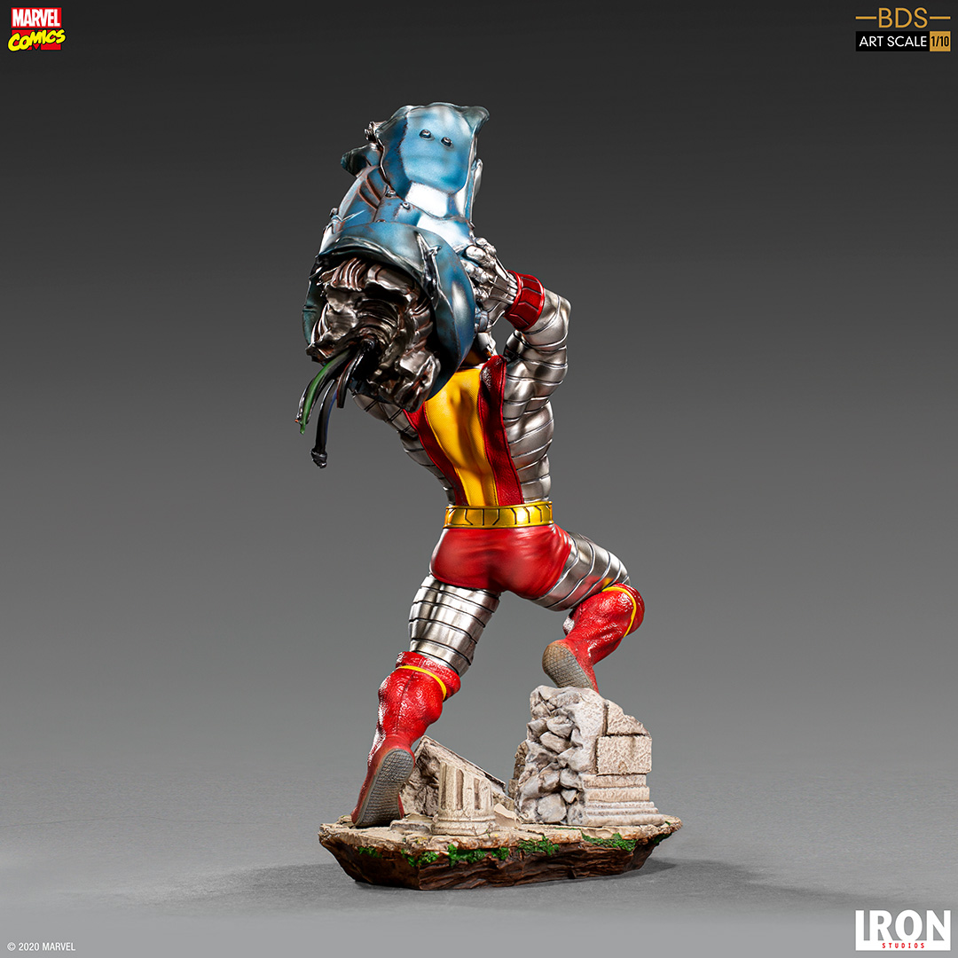 X men Colossus statue