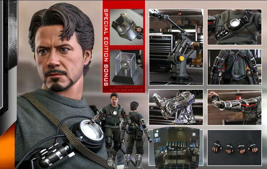 Iron Man + Tony Stark