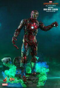 Mysterio's Iron Man Illusion figure