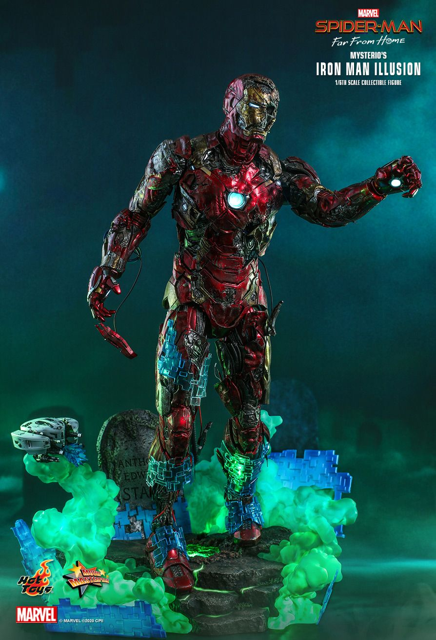 Mysterio's Iron Man Illusion figure