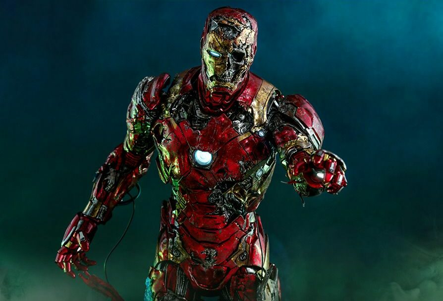 ZOMBIE IRON MAN figure