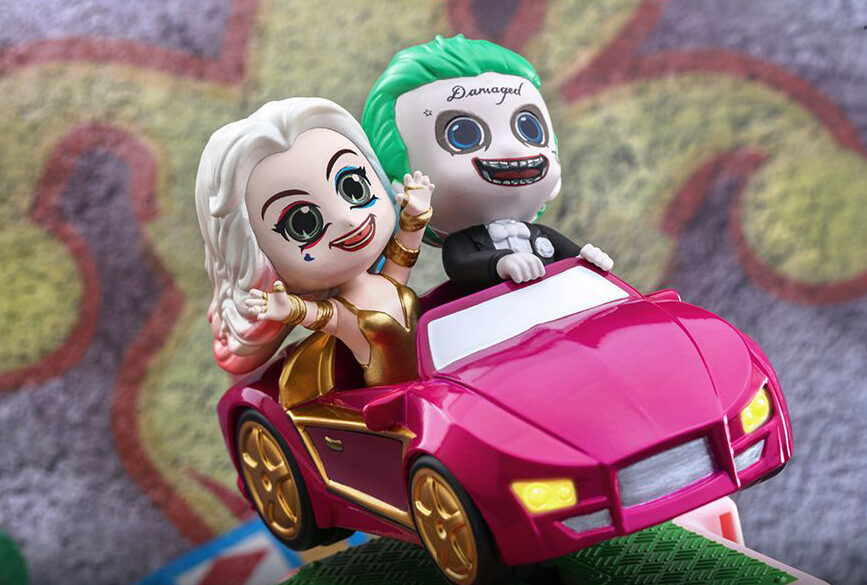 The Joker& Harley Quinn figurefun
