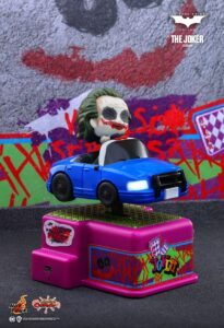 The Joker dark knight rides