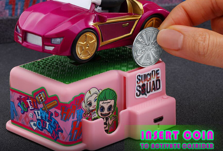 The Joker & Harley Quinn coin operated rider