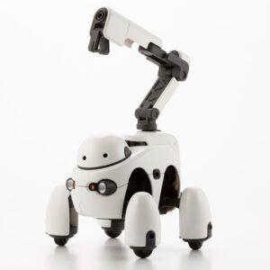 plastic robot model
