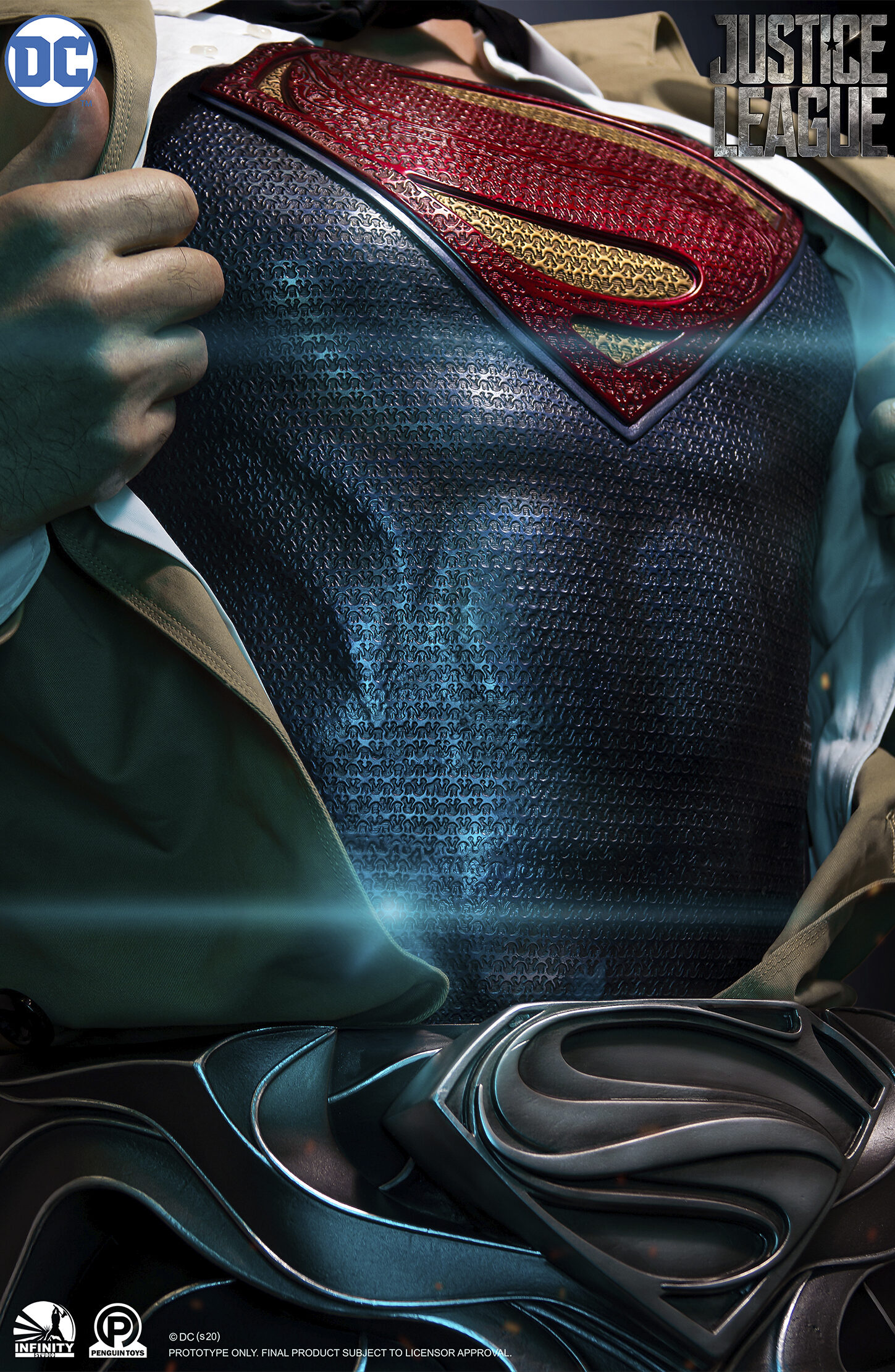 superman uniform