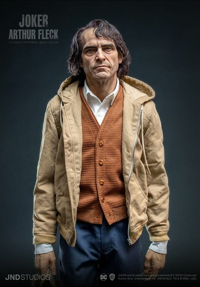 Joker Arthur Fleck statue 1