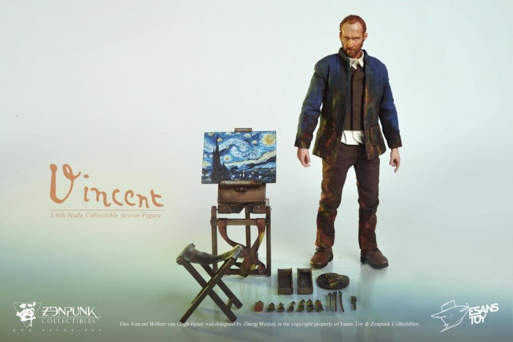 van Gogh figure accessories