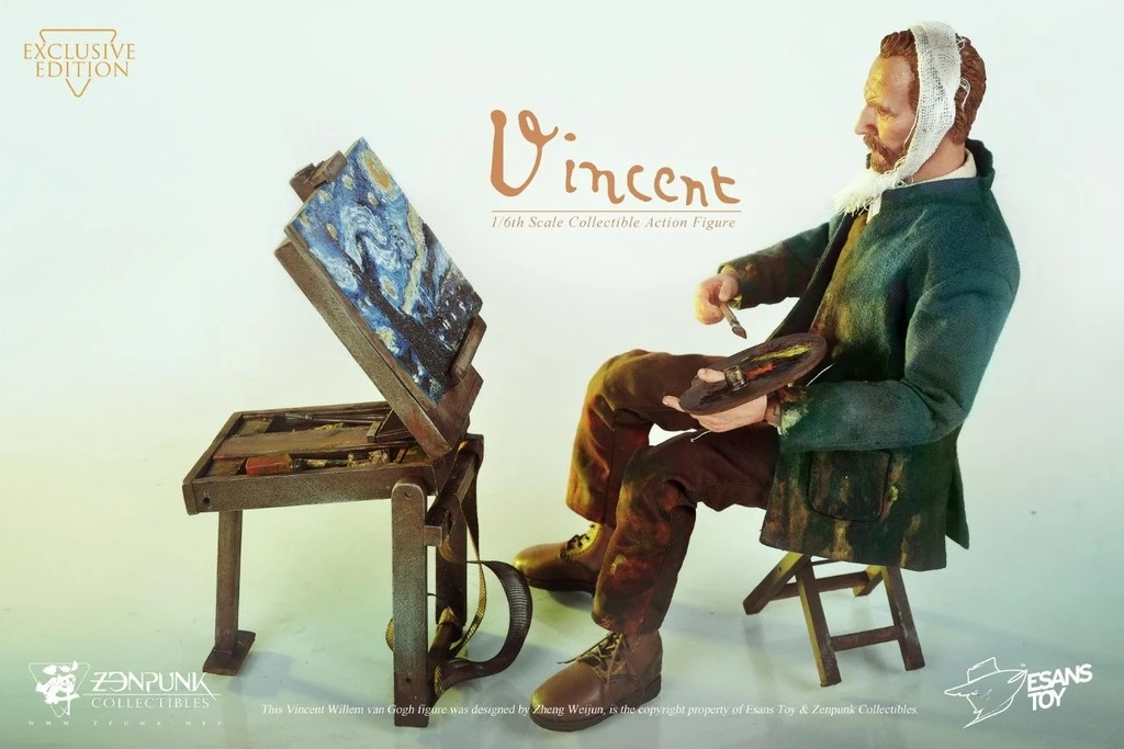 Vincent Willem van Gogh figure