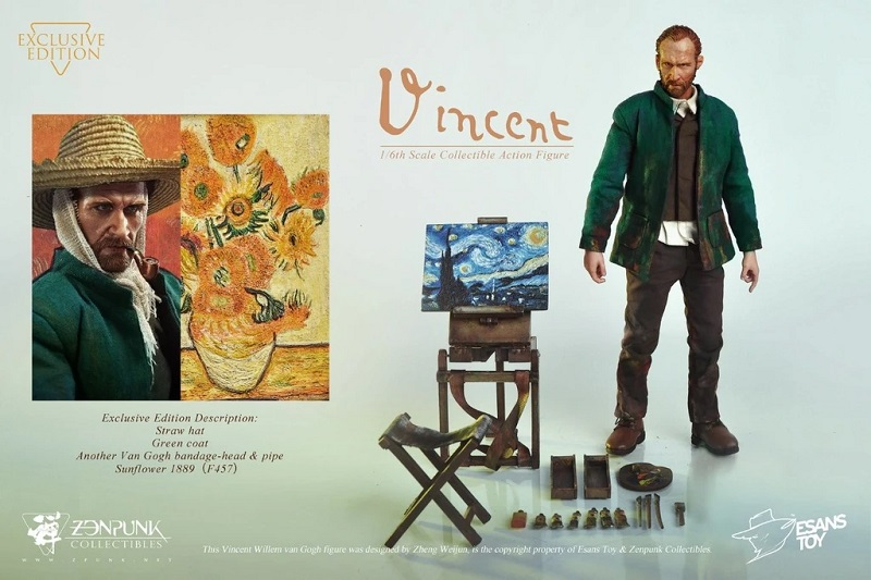 van Gogh figure Exclusive Version