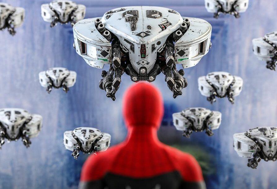 spider-man Mysterio's Drones