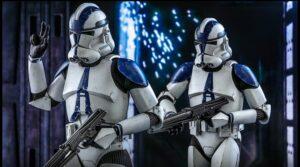 501st Legion Clone Trooper action figure