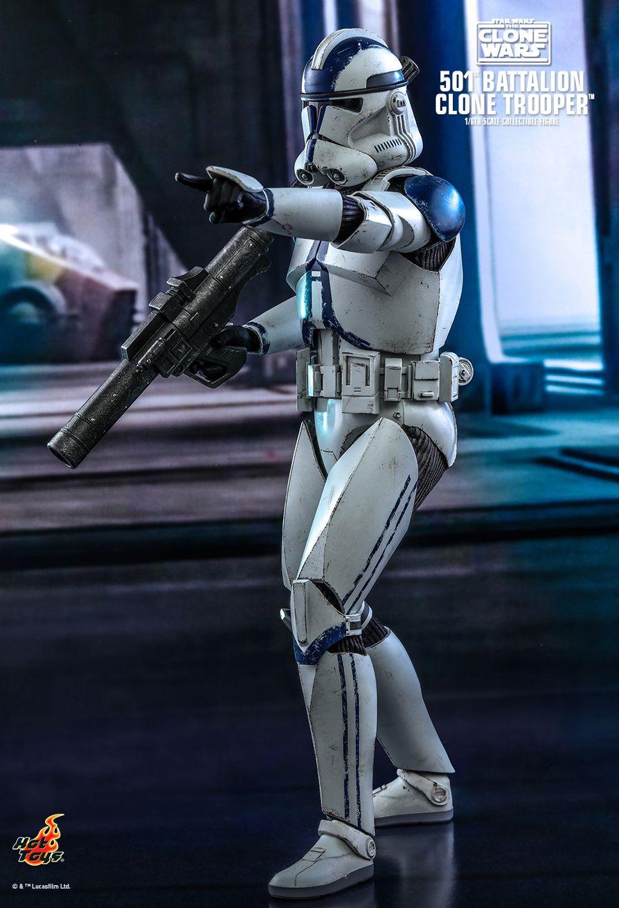 501st Battalion Clone Trooper figure