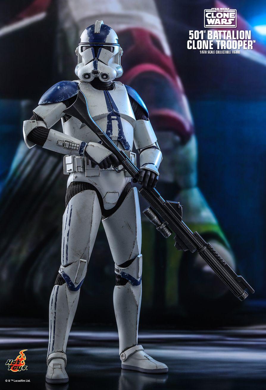 501st Legion Clone Trooper figure