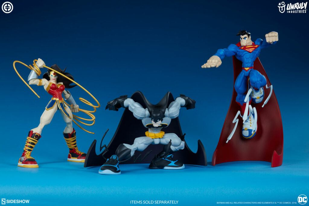 Super Heroes in Sneakers