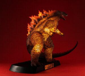 Burning Godzilla collectible