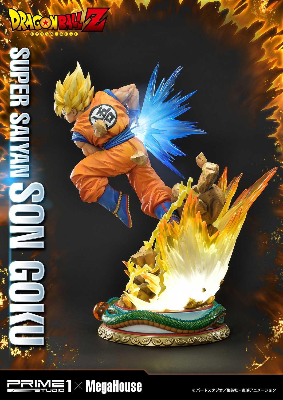 Son Goku satue