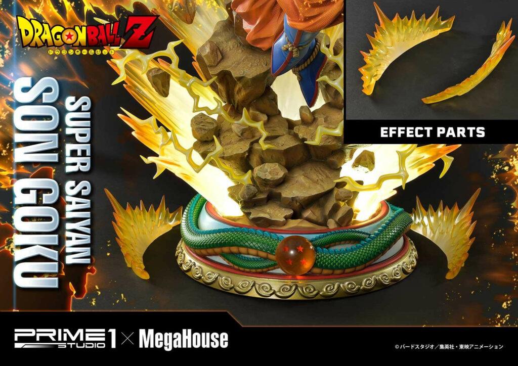The base of Goku staute