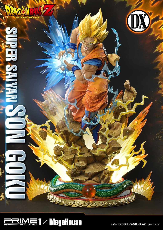 Super Saiyan 2 statue