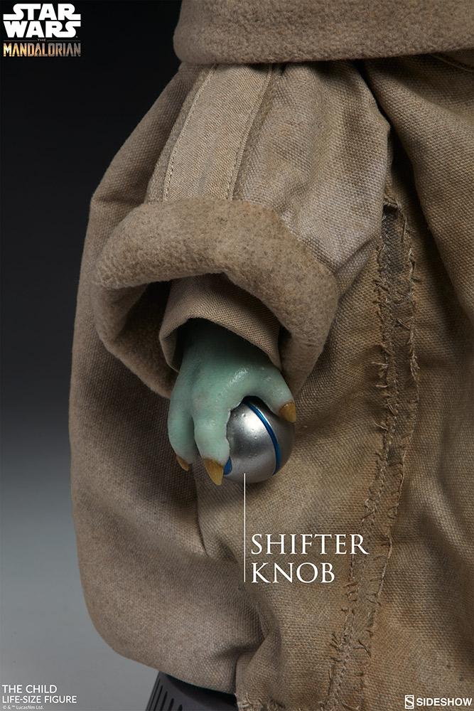 silver shift knob