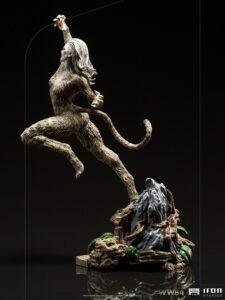 Villain Cheetah statue