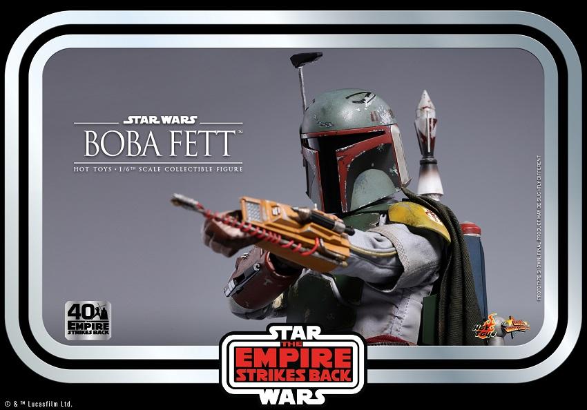 Hot Toys Boba Fett action figure