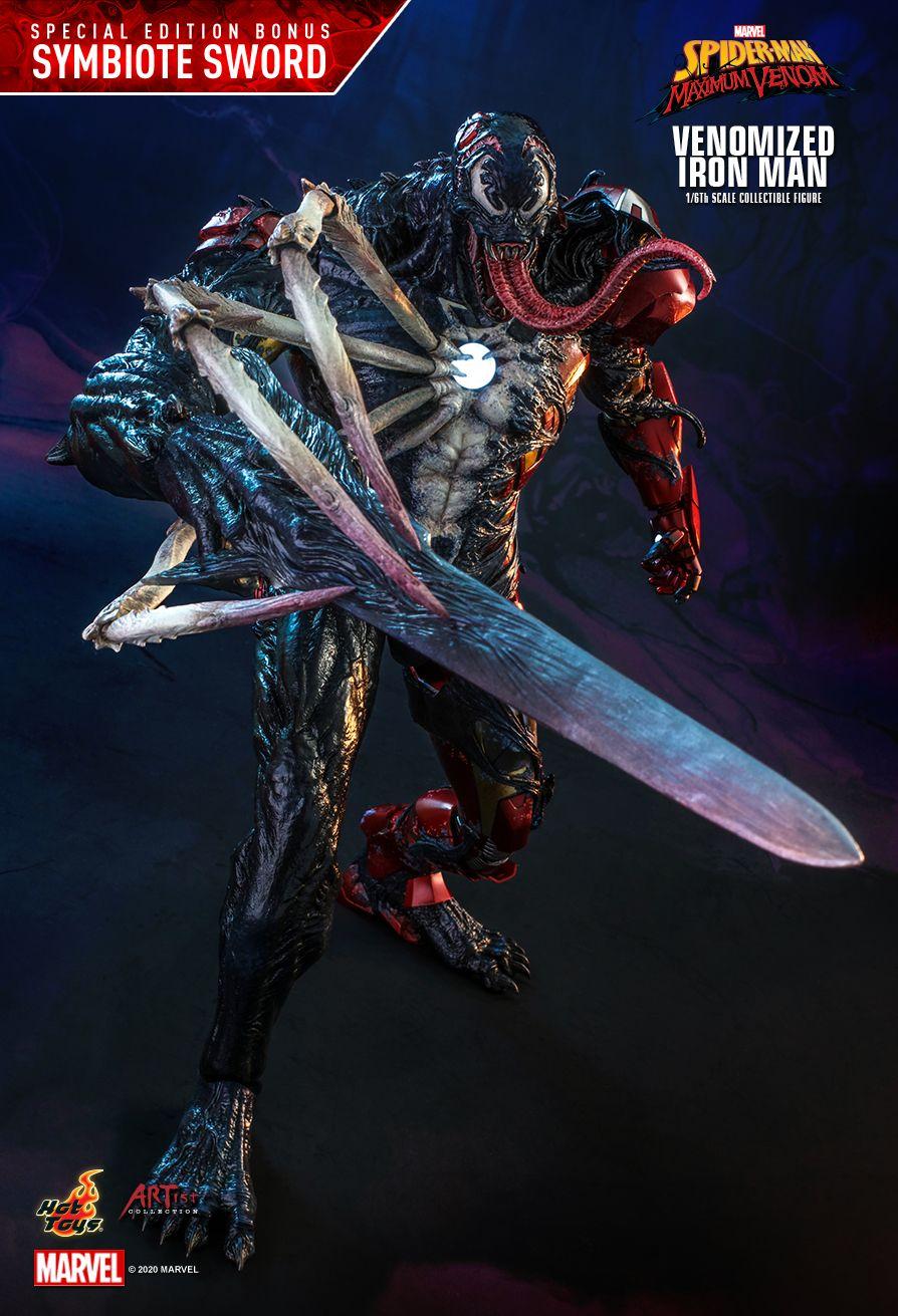Venomized Iron Man Figure