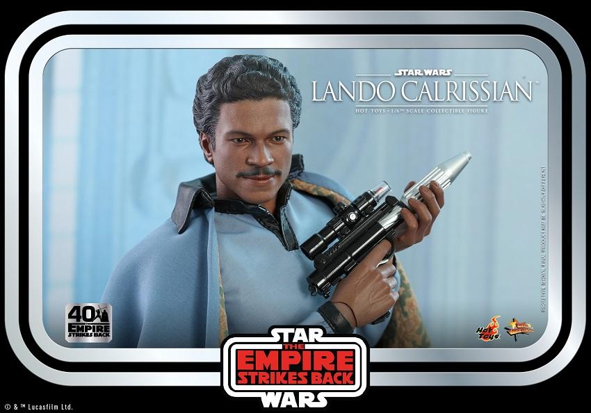Hot Toys Lando Calrissian action figure
