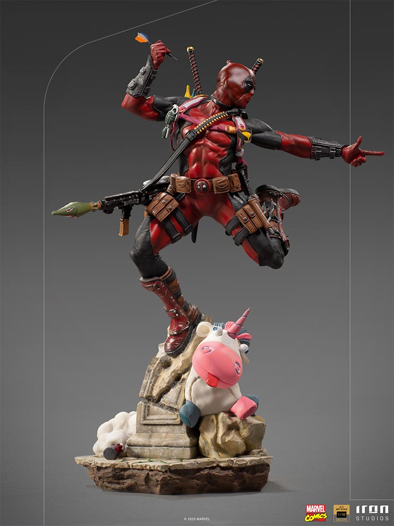 Deadpool 1/10 scale statue