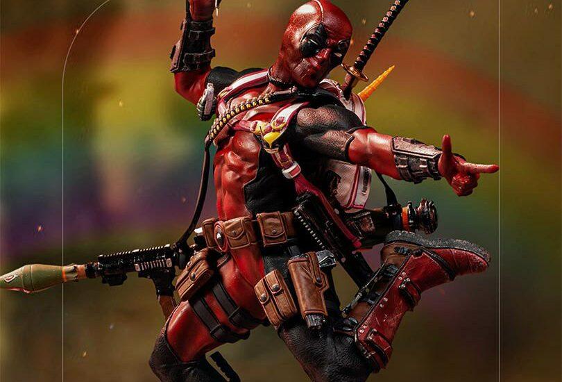 Deadpool-statue