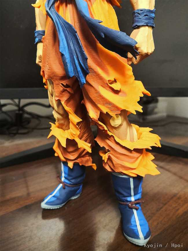 Banpresto Super Saiyan Goku figure