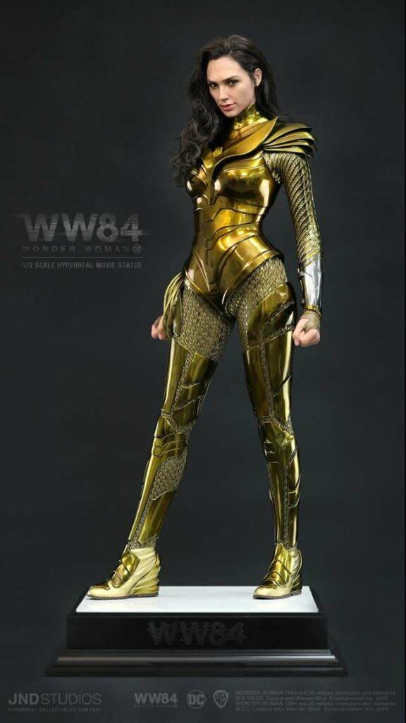 JND Studios-Golden Eagle Armor Wonder Woman statue