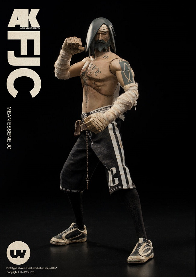 Underverse Fighting JC action figure