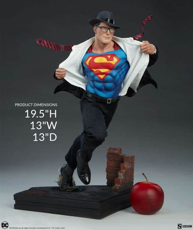 superman call to action figure