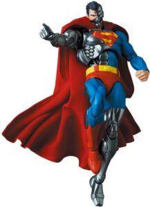 Mafex Cyborg Superman action figure