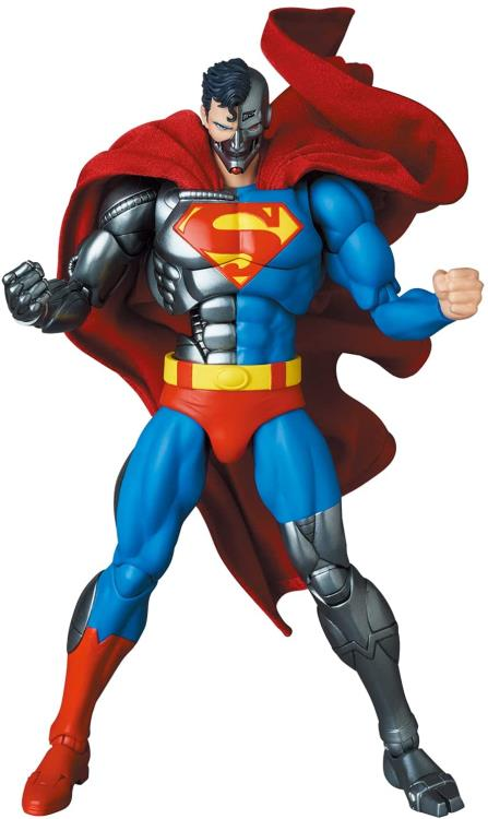 MAFEX Cyborg Superman figure