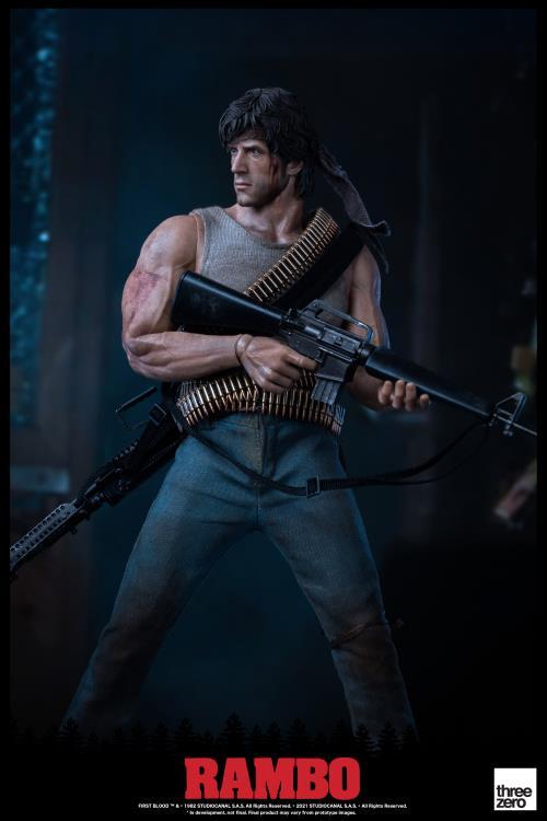 First Blood John Rambo Action Figure