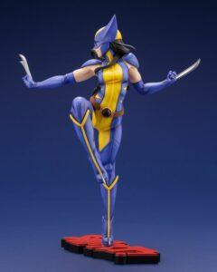 Laura Kinny Wolverine statue