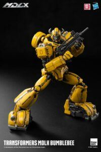 MDLX transformers bumblebee action figure