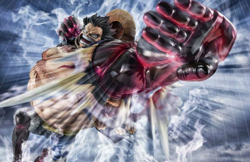 Luffy Gear 4 Boundman figure