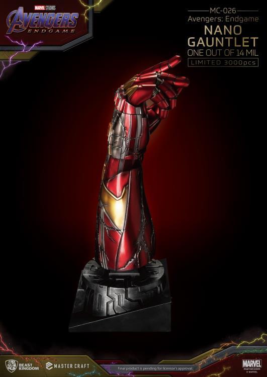Nano Gauntlet Statue