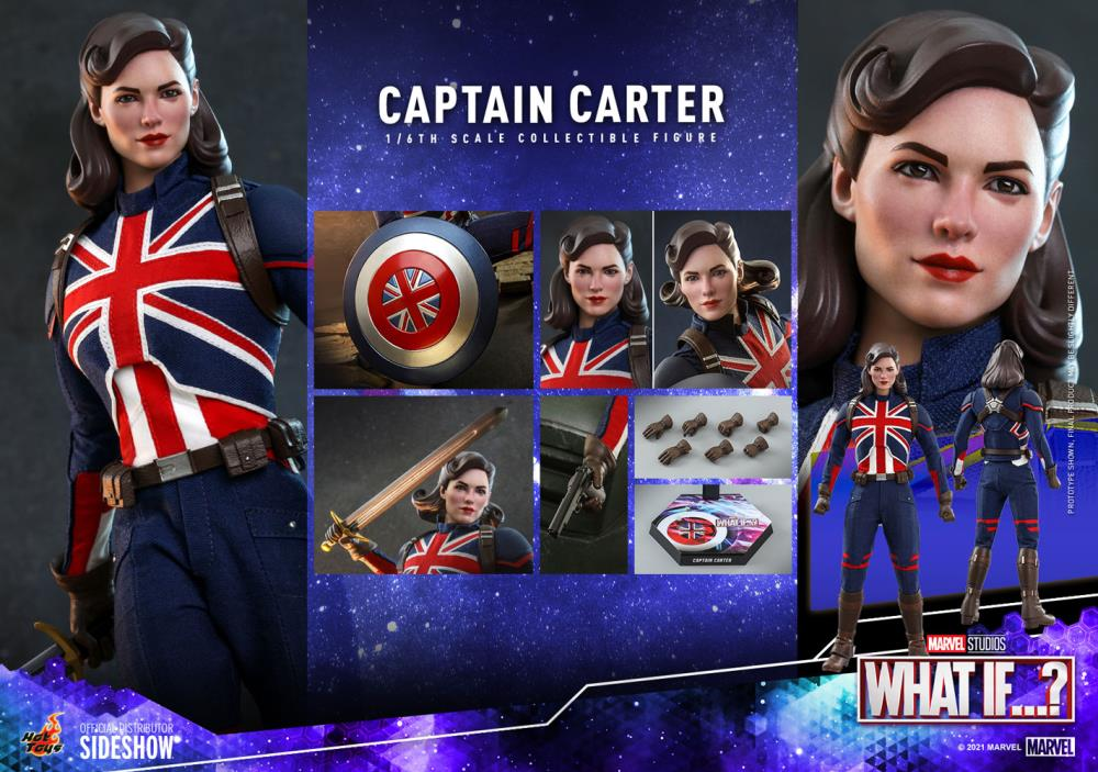What If ... Captain Carter action Figure
