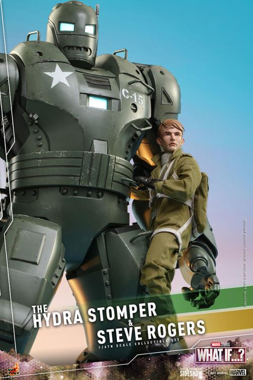 What If... The Hydra Stomper and Steve Rogers figure